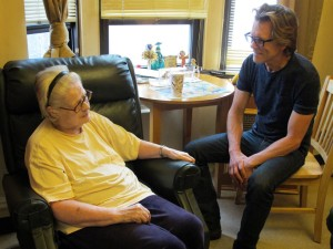 Kevin Bacon Visiting Encore 49 Resident 2
