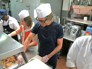 Kevin Bacon Serving at Encore