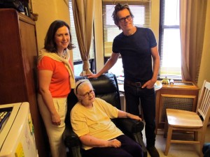 Kevin Bacon with Encore 49 Resident